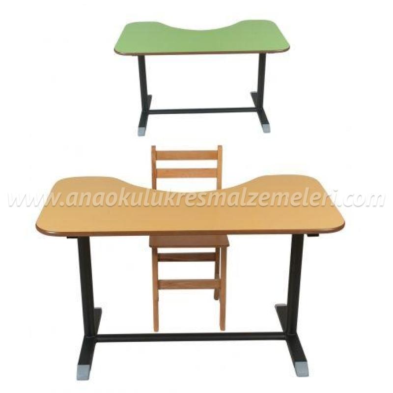 Fasulye Masa (yükseklik ayarlı)