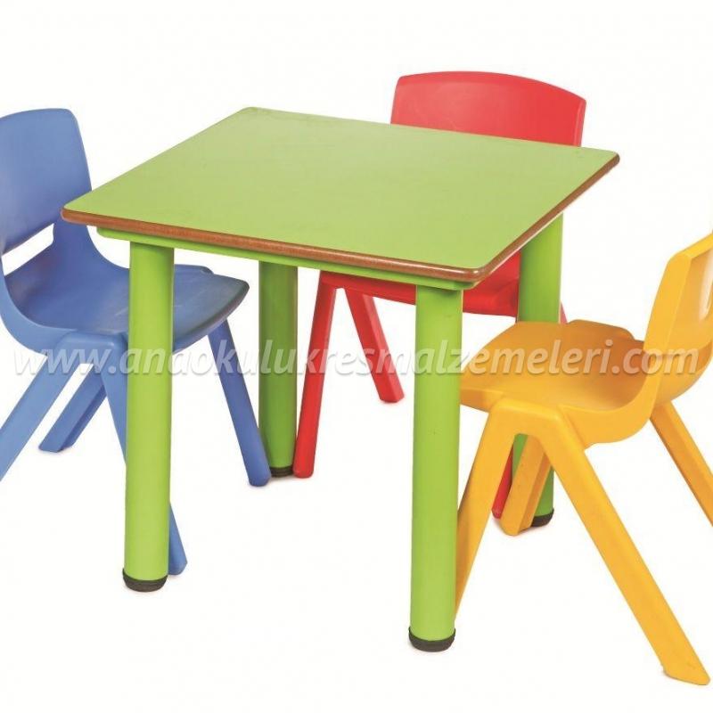 Anaokulu Masası (Kare)