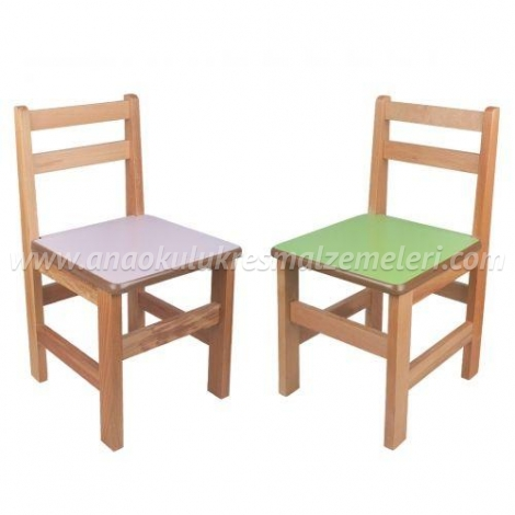 Anaokulu Sandalyesi (mdf oturaklı)