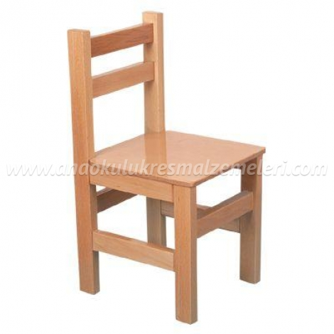 Anaokulu Sandalyesi (kayın)