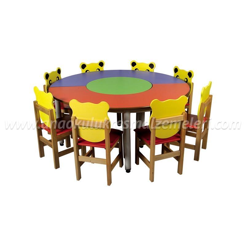 Yuvarlak Masa Takımı 3'lü