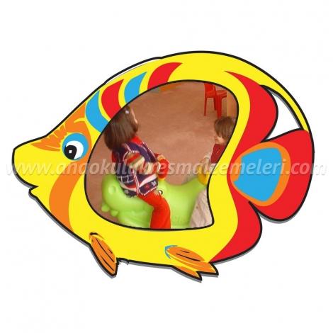 Balık Fiğürlü Ayna