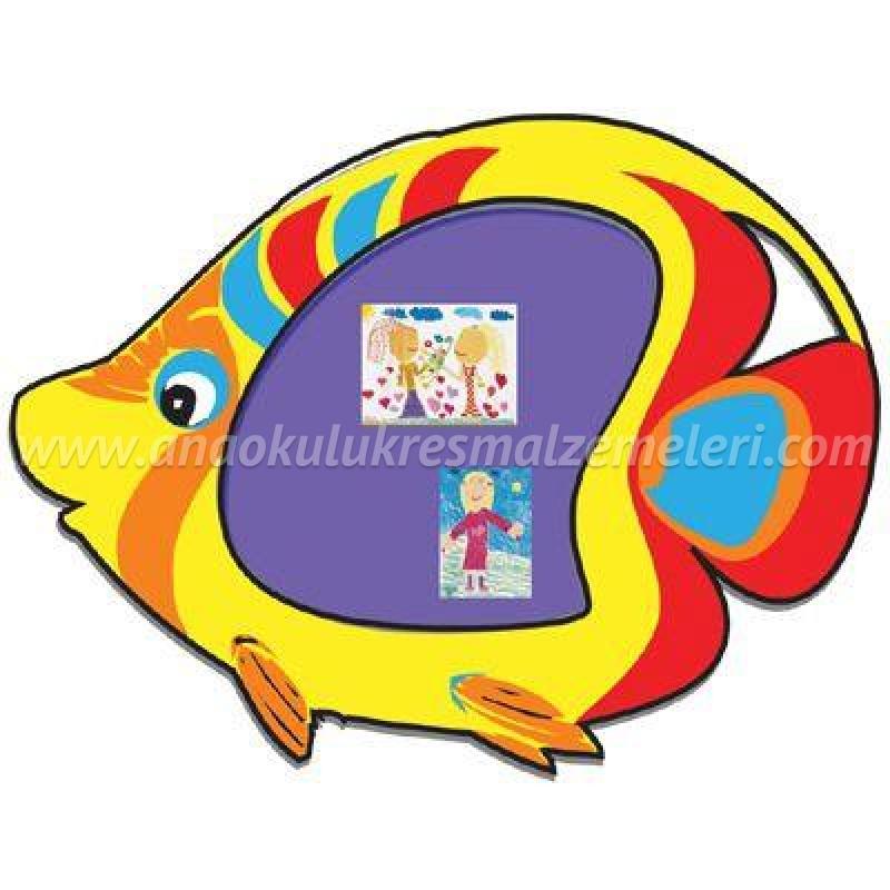 Balık Fiğürlü Pano