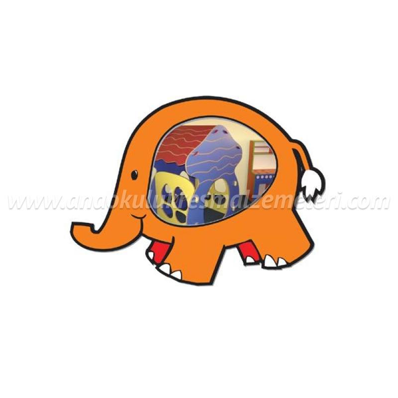 Fil Figürlü Ayna