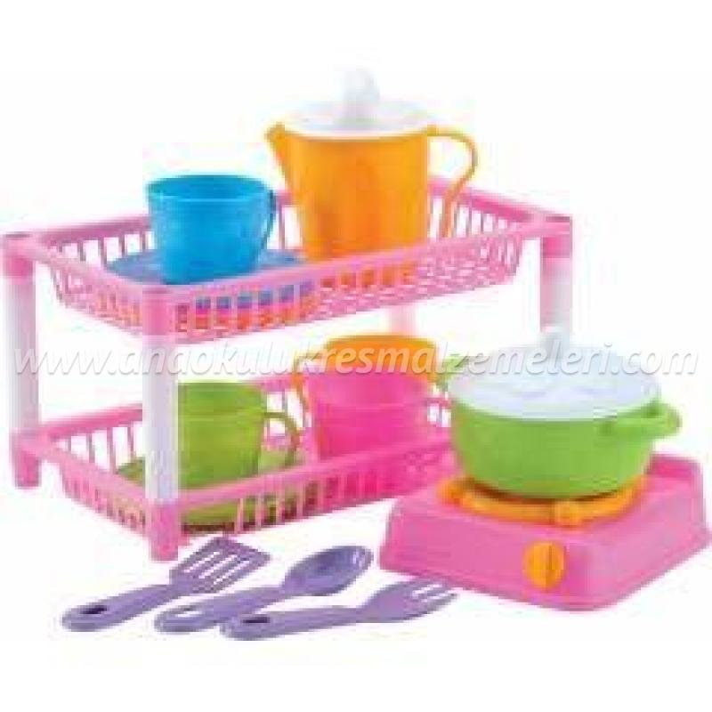 Çocuk Mutfak Sepeti 2'li