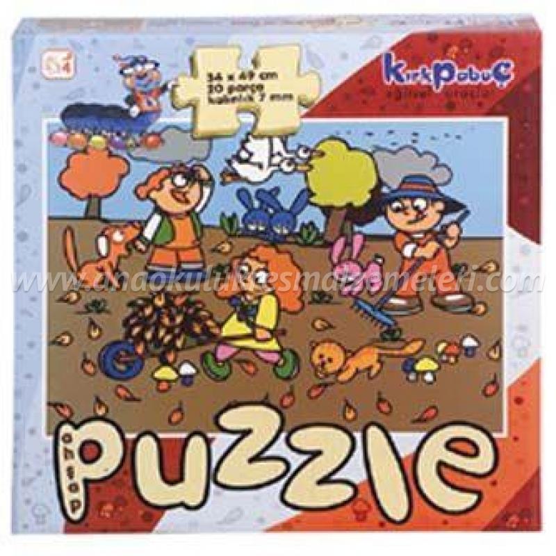 Mevsimler Puzzle (sonbahar)