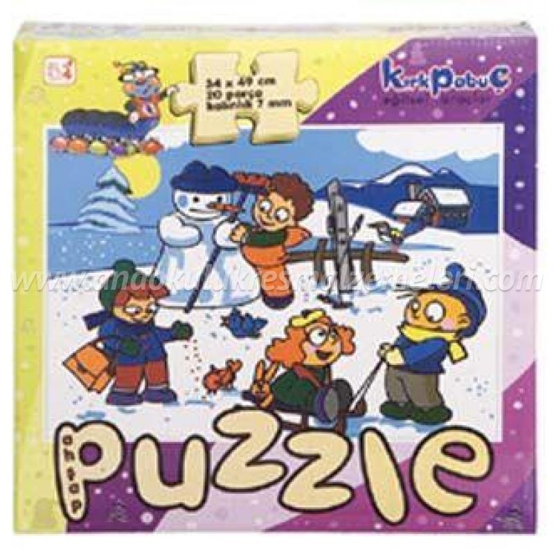 Mevsimler Puzzle (kış)