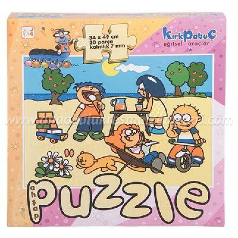Mevsimler Puzzle (yaz)