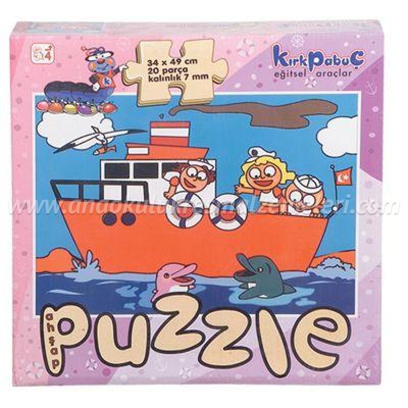 Taşıtlar Puzzle (Gemi)