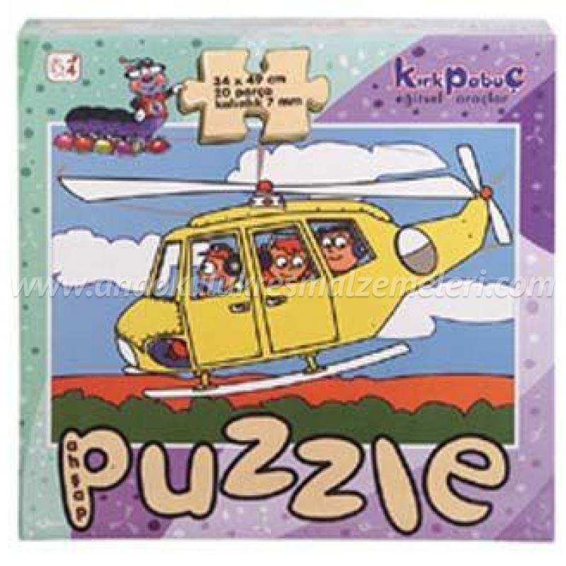 Taşıtlar Puzzle (Helikopter)