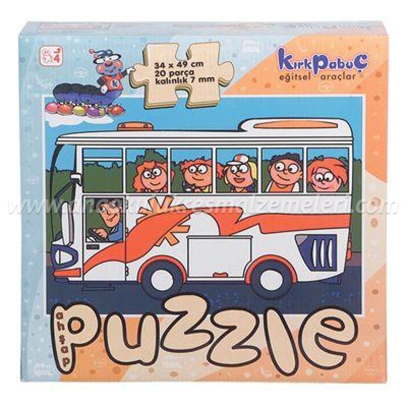 Taşıtlar Puzzle (Otobüs)