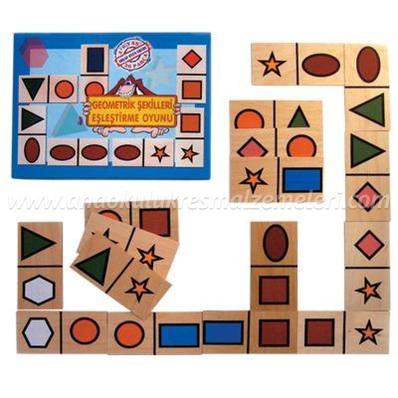 Geometrik Şekilleri Eşleştirme Oyunu
