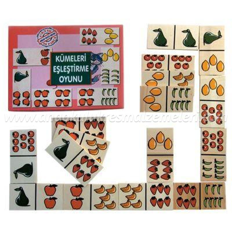 Küme Eşleştirme Oyunu Domino