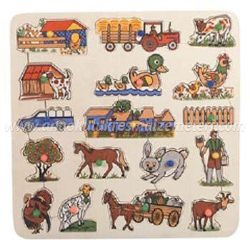 Çiftlik Puzzle (Kuplu)