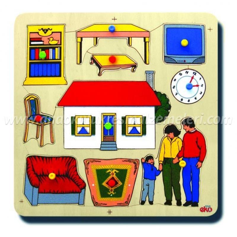 Evimiz Puzzle Kuplu