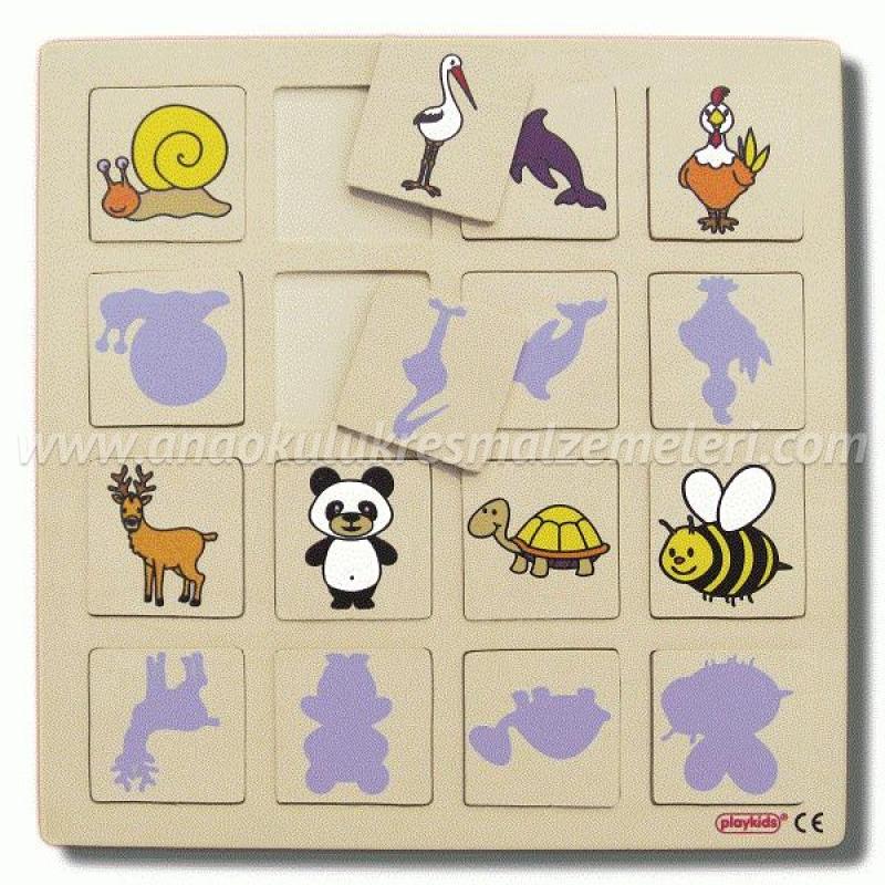 Gölge Oyunu Puzzle