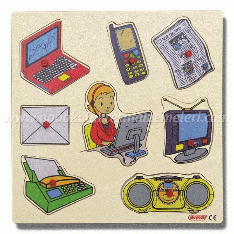 İletişim Araçları Puzzle