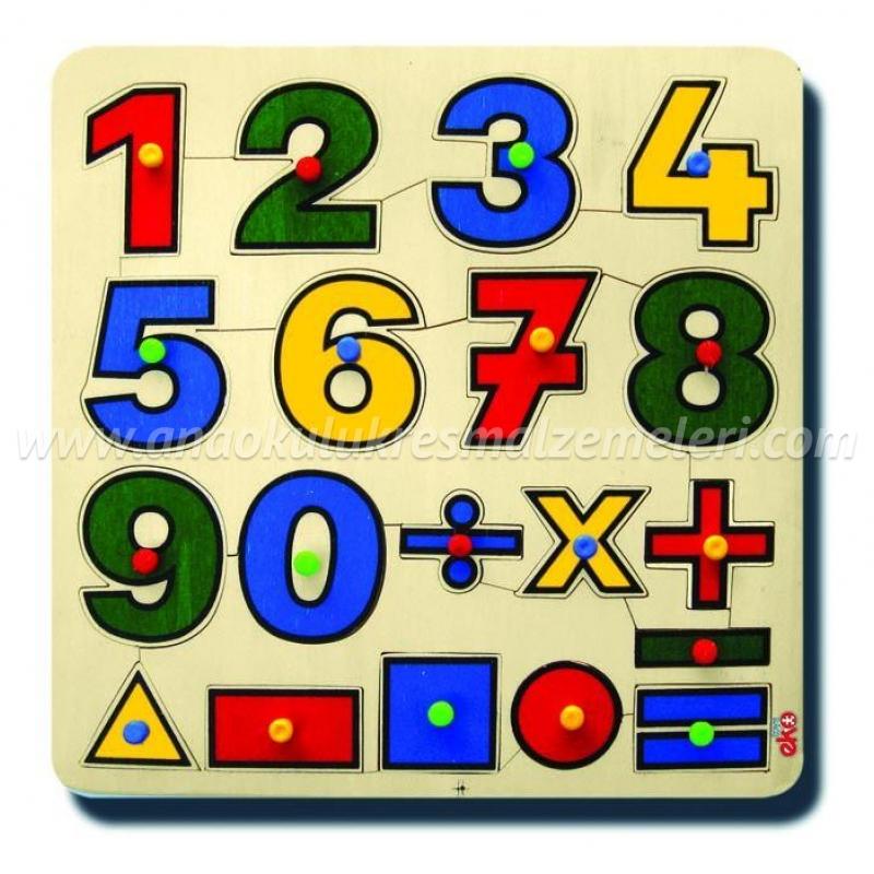 Matematik Öğreniyorum Puzzle
