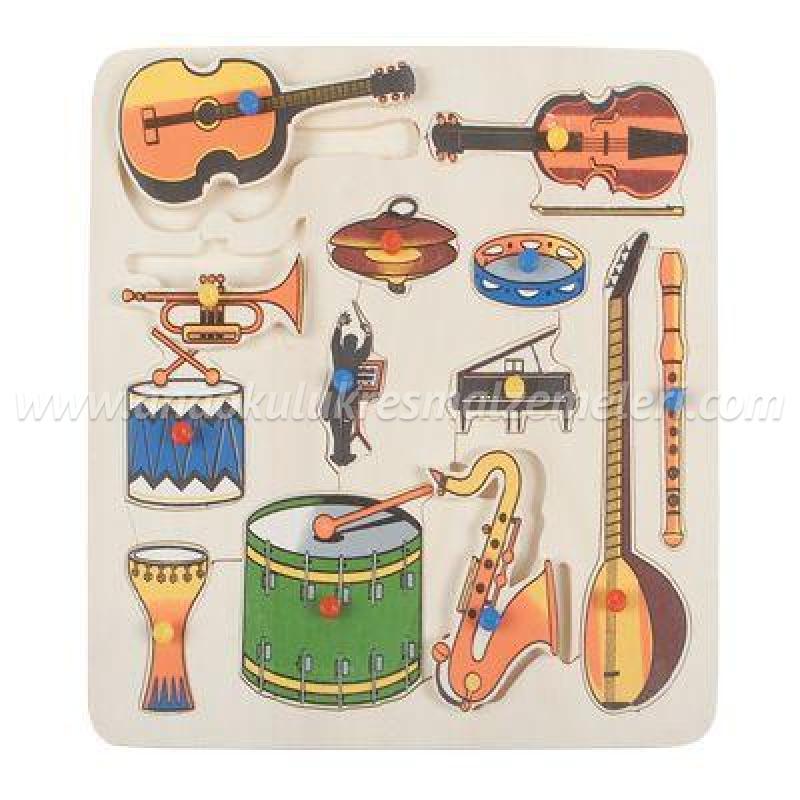 Müzik Aletleri Puzzle