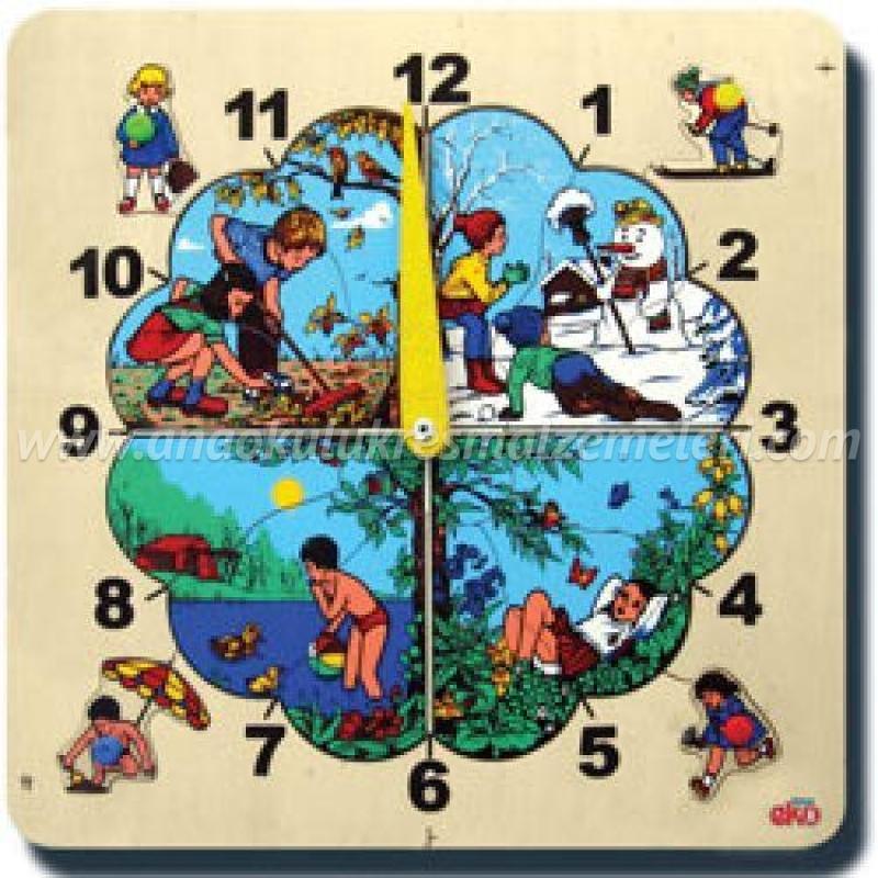 Saat 4 Mevsim Puzzle
