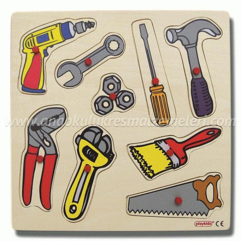 Tamir Araçları Puzzle