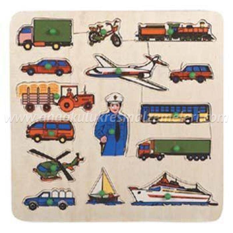 Taşıtlar Puzzle