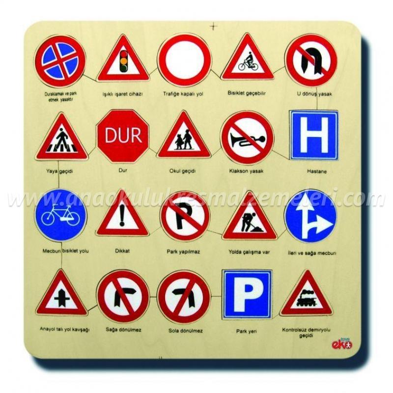 Trafik İşaretleri Puzzle