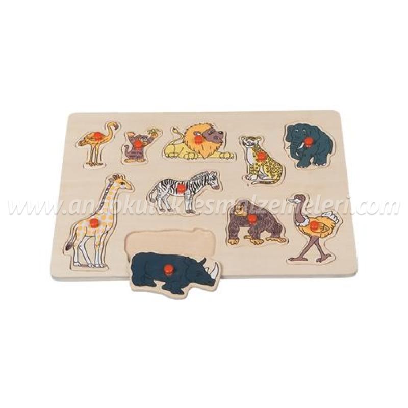 Vahşi Hayvanlar Puzzle