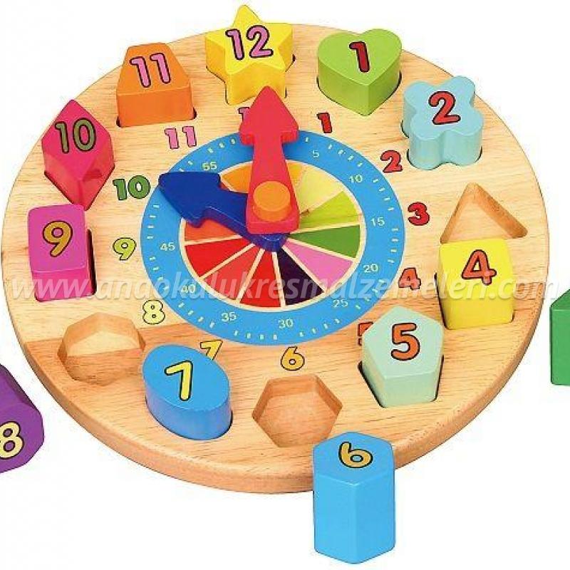 Geometrik Saat Puzzle