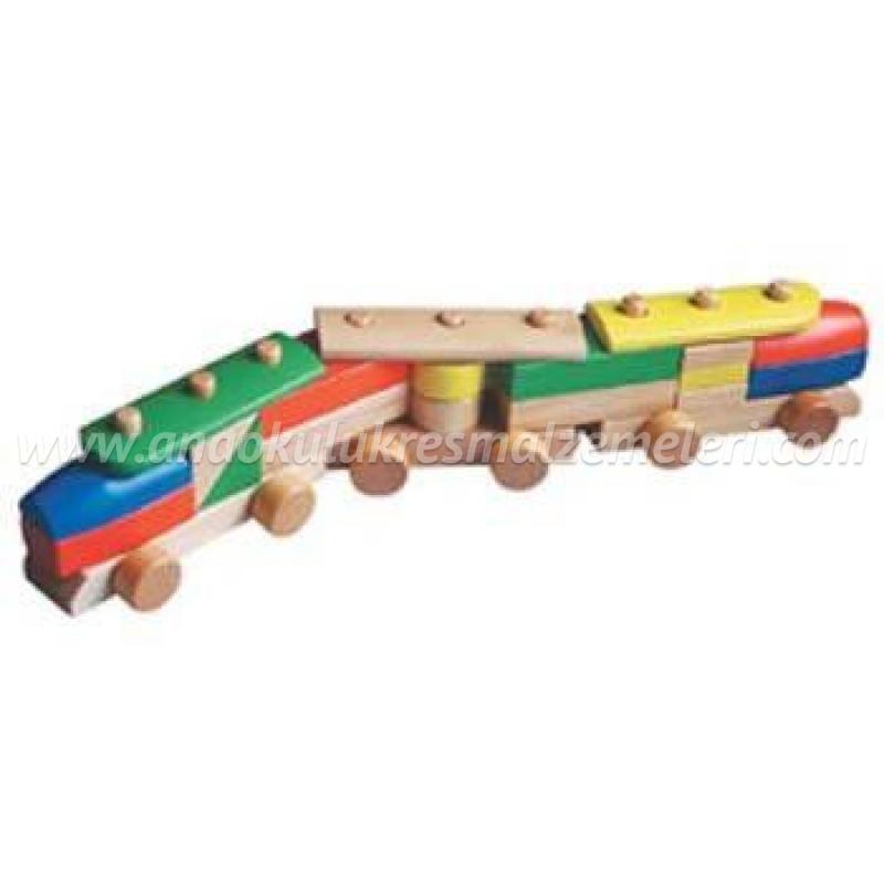 Blok Tren (Ahşap)