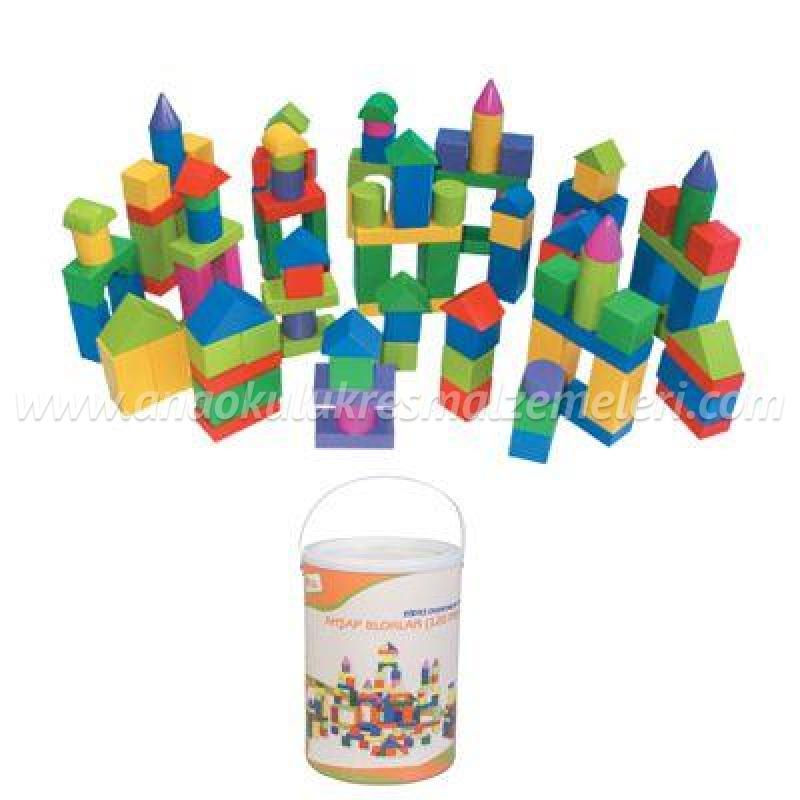 Ahşap Bloklar (120 Parça)