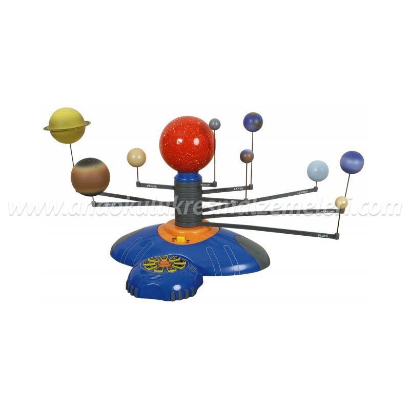 Güneş Sistemi Hareketli (İngilizce Açıklamalı)