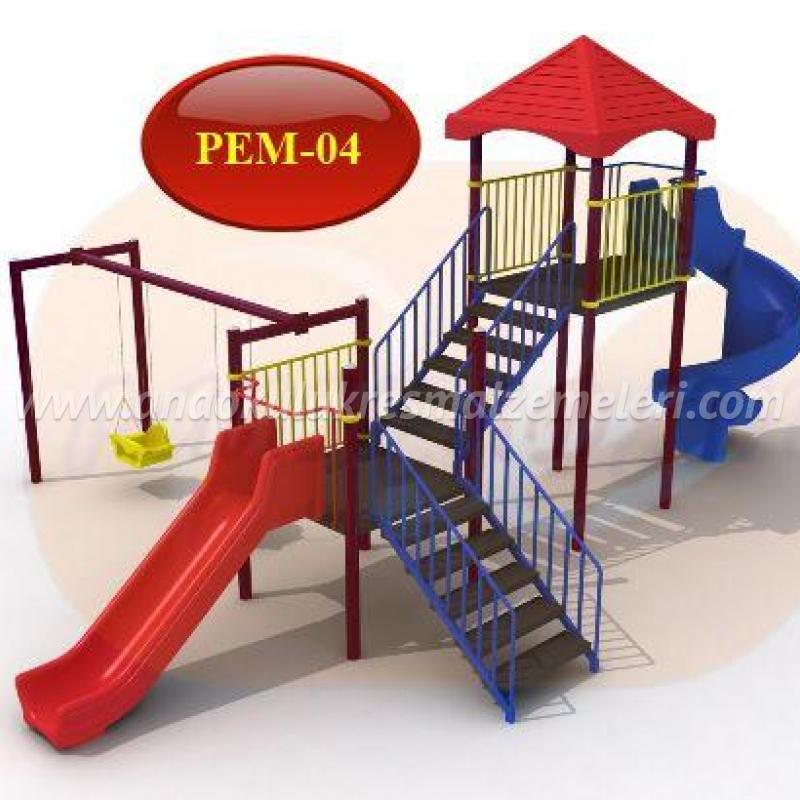 çocuk oyun parkı (genişplatformlu)