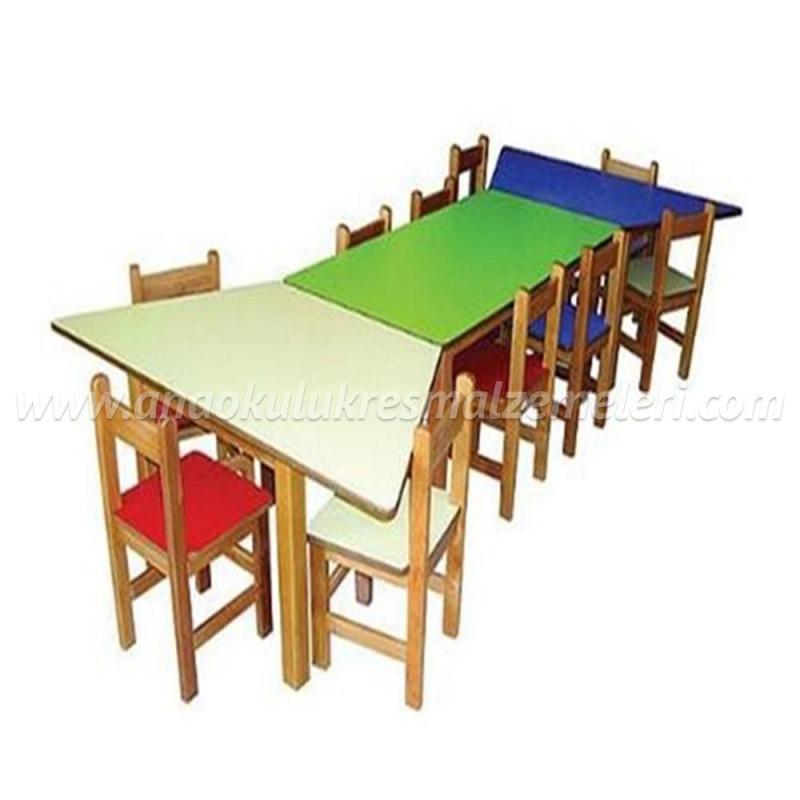 Anaokulu masası (3 parça)
