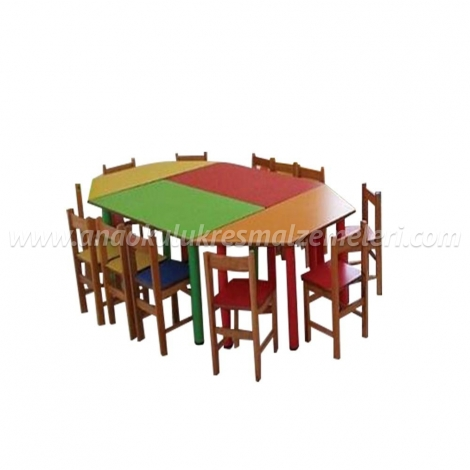 Çocuk Masası (4 Parça)